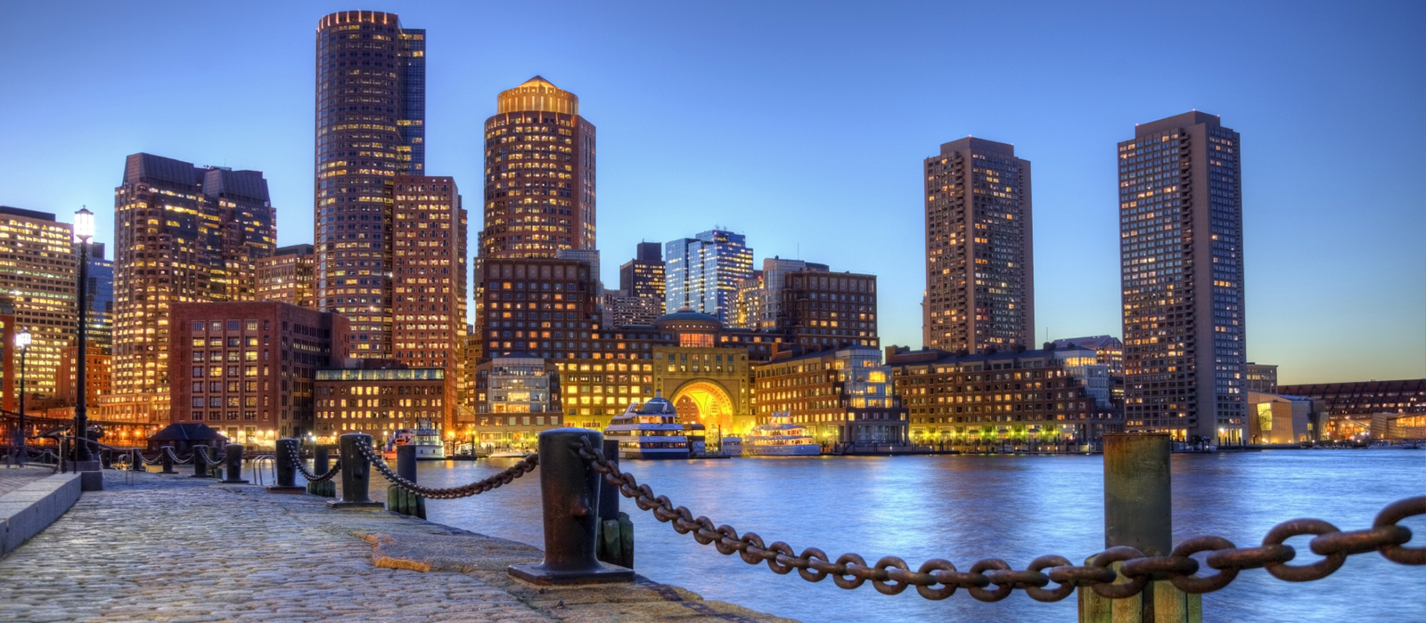 View of the Boston skyline